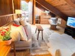 Loft TV Room / Overflow Sleep Space