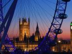 For an amazing view of London take the London Eye
