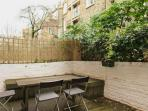 Spacious Courtyard for summer evenings and drinks