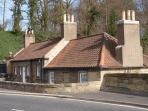 The Marriage House on Coldstream Bridge, Coldstream.  2.5. miles from the Cottage.