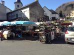 market day in Argeles Gazost