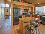 Bring your favorite recipes to life in this fully equipped kitchen.