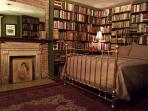 Booklined Master suite (formerly Jumel Terrace Books).