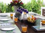 Breakfast Villa Seminyak