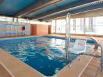 piscina climatizada (solo de octubre a junio)