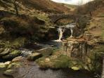 Beautiful Three Shires Heads - just one of the breathtaking walks on offer nearby