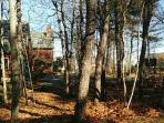 Private Wooded Lot with  Community Ocean Access at 3 locations to Pebble Beach and Maine Coastline