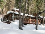 Der Tree Haus~35 min drive to Leavenworth, private, hot tub, Wi-Fi, woodstove