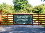 Down a quiet country lane, up a long driveway, our small, private hamlet of five luxury 5* cottages
