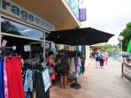 Down the main street of Huskisson are lovely shops, cafes and restaurants for leisurely enjoyment