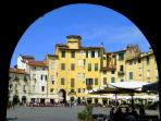 Lucca only 15 km away