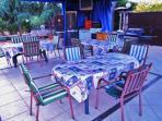 tavoli esterno pranzo cena