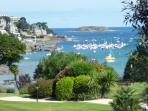 The port at Dinard - 20 minutes drive