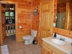 Lower Level Bathroom Has Access To A King Bedroom And The Bunk Bed/Game Room.