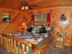 King Bedroom With A Very Comfortable Mattress, Lower Level With Attached Bathroom