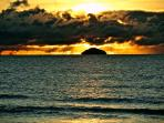 Look at that sky over Ailsa Craig.  One of the many reasons we love staying in the West!