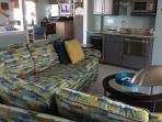 Media Room w/Full Bar;   65' 4K SMART TV