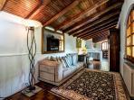 Living room of Villa Gisette