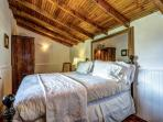 Master bedroom Villa Gisette with stunning views