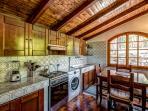 Lovely cozy kitchen Villa Gisette