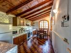 Kitchen in Villa Gisette
