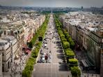 Champs Elysées View from the top of Arc of Triumph