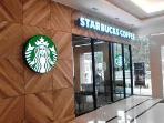 Starbucks at entrance