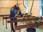Ski preparation Lodge, air-conditioned