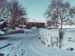 Winter on the farm...