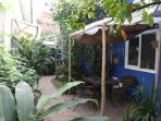 Private terrasse for a rest or a meal ! Majorelle Cotonou : feel like home !