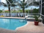 Solar/Electric Heated Pool and Spa