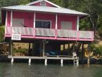 Flamingo Cabin.