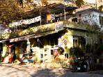 Bayir village has a handful of shops, small markets and simple eateries.