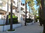 Walkway by Casa Melda