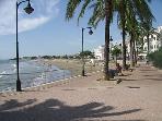 Promenade to Alcossebre and Alcossebre beach