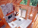 A cozy cabin with an unsurpassed feeling of light and air