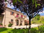Villa Miramonti set in landscaped gardens