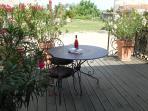 Henri's terrace
