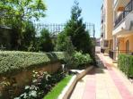 Beautiful surrounding gardens