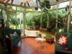 large conservatory over looking garden