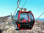 The new high speed 8 passenger gondola is here, how exciting!