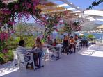 Breakfast time at Kavos Bay