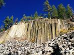 Devil's PostPile Monument- a must-see while at Mammoth Lakes!