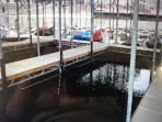 12 x 32 or 14 x 40 boat slips for rent