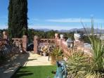 Private roof garden, views to Motril, mountains & Mediterranean coast