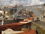 vista sobre o Rio Douro e Ponte D.luís I