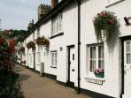 Street view of Gravel Cottages Beer
