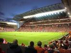 Anfield home of Liverpool FC. The most successful football team in Britain