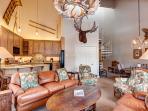 Tyra Summit Living Area Breckenridge Lodging Vacation Rentals