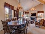 Tyra Summit Dining Area Breckenridge Lodging Vacation Rentals